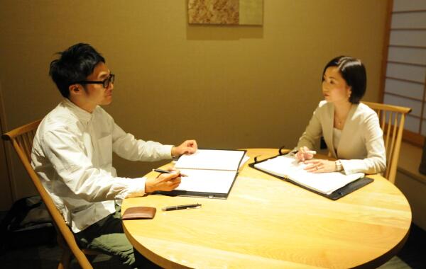 寺尾社長と館野代表