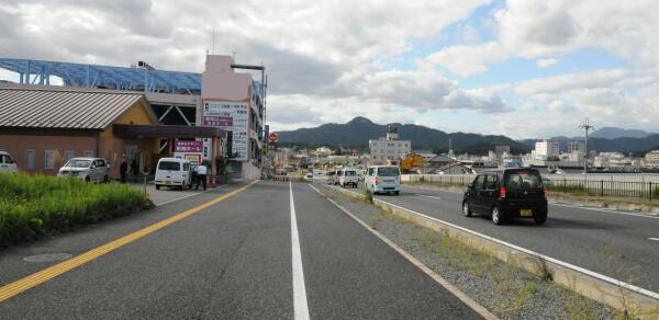 福知山市街